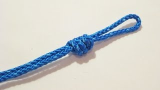 Baixar How To Tie A Double Overhand Loop - Knot