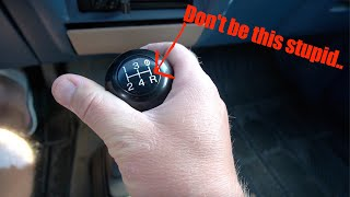 What Happens If You Put A MANUAL Transmission In REVERSE While Driving?
