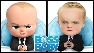 Boss Baby Controls Dad For A Day! Kids Fun TV