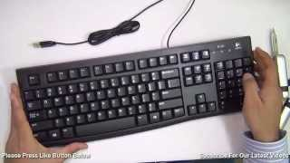 Logitech K120 Keyboard Review With Unboxing And Features