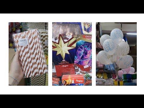 Видео Artigos para festas na 25 de março