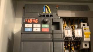 видео Преобразователь частоты 3,7 кВт