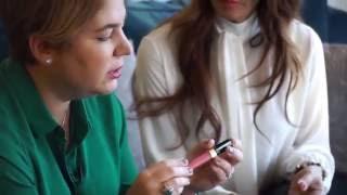 Yeni Yıl Kozmetik Alışverişi   Esra Özübek ile Ruj