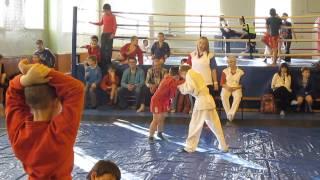 Соревнования по самбо в г. Бузулук 08.11.2013 (Рагулин Никита вес. 30 кг.) полуфинал