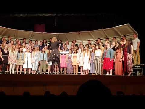 Africa Sung by Burlington Edison High School Choir