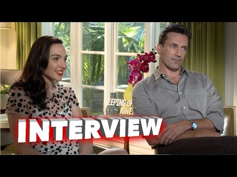 Keeping Up with the Joneses: Gal Gadot & Jon Hamm Exclusive Interview