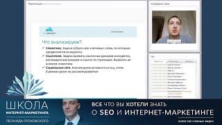 видео seo анализ конкурентов
