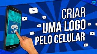 Como Criar uma LOGO pelo CELULAR (Fazer Logo para Canal de Games pelo Smartphone)