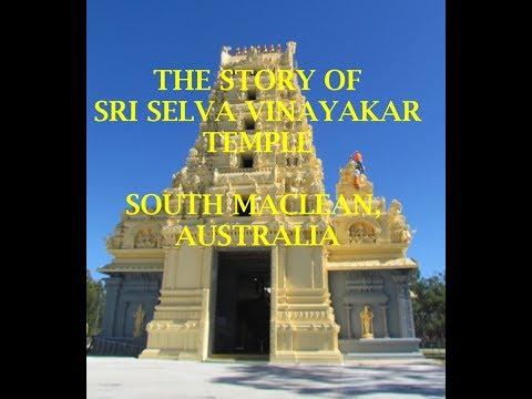 Sri Selva Vinayakar Temple - History of the new temple