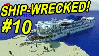 "Minecraft | SHIPWRECK! | ""Being Lost and Admiral_Winston!"""