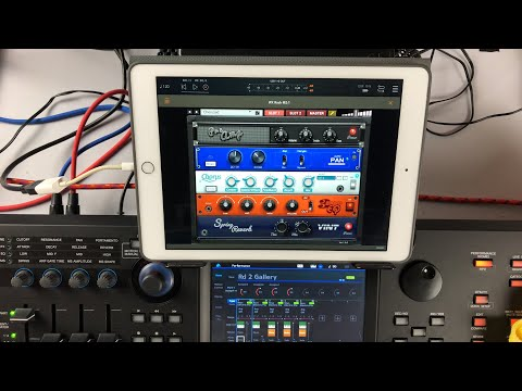 iFX Rack - AUv3 Effects Rack by Gospel Musicians - Live iPad Demo
