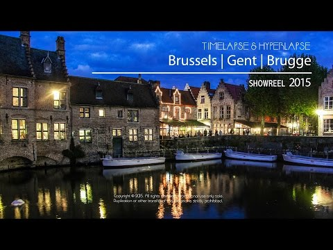 Bruselas | Gante | Brujas 4K (UHD) - Timelapse & Hyperlapse