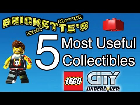 """LEGO City: Undercover"" 5 Most Useful Collectibles - Rex Fury And 4 Red Bricks - Pls SEE DESCRIPTION"