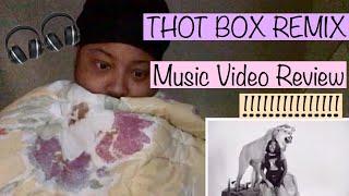 THOT BOX REMIX   MUSIC VIDEO REACTION   LADY TEE