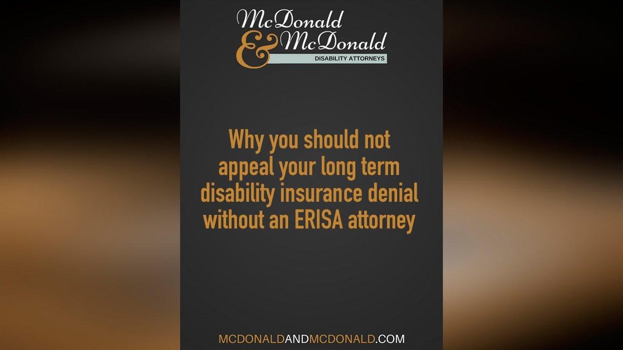 Mcdonald and Mcdonald - Disability Attorneys