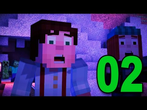Minecraft: Story Mode - Part 2 - ZOMBIE ATTACK! (Lets Play / Walkthrough)