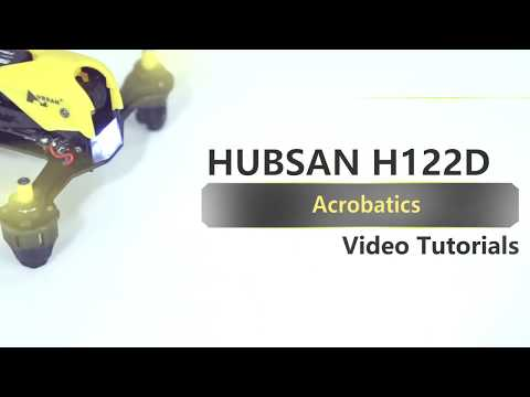 HUBSAN H122D X4 Storm Video Tutorial: Acrobatics