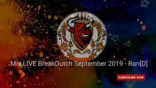 merah NONSTOP Mixtape LIVE Breakbeat Dutch September 2019 Ran D