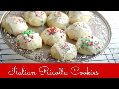 Italian Ricotta Christmas Cookies