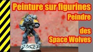 TUTO - Peinture sur figurines - Space Wolves(, 2014-03-29T08:22:35.000Z)