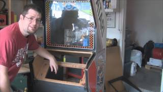 Building A Mame Cabinet Ep 3: To Boldly Tear Out An Old Cabinet's Guts