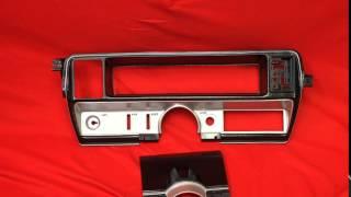 1969 Buick Skylark Dash Insert