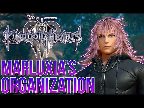 Kingdom Hearts 3 - MARLUXIA'S ORGANIZATION