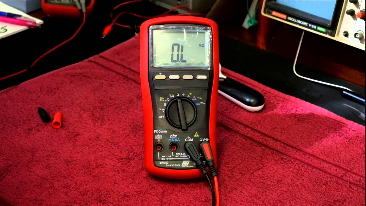 Episode 40 Brymen TBM812 Multimeter First Look and Relative mode explained  by Evione Group