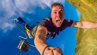 BUNGY JUMPING THE NEVIS BRIDGE! (500FT) w/ Toddy Smithy