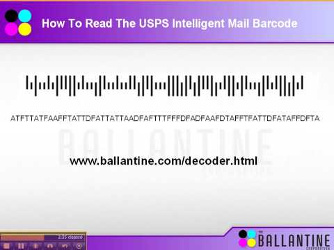 USPS Intelligent Mail Barcode Video