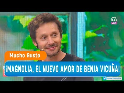 Magnolia, el nuevo amor de Benjamín Vicuña - Mucho gusto 2018