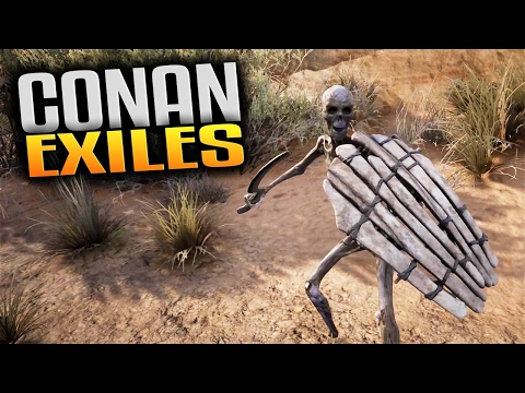 Conan Exiles Gameplay - Gaining Corruption & Battling Undead (How to Heal Corruption in Conan Exiles