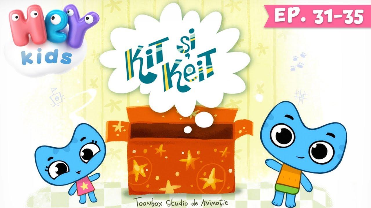 Desene animate in romana - KIT si KEIT | Ep. 31-35 | HeyKids