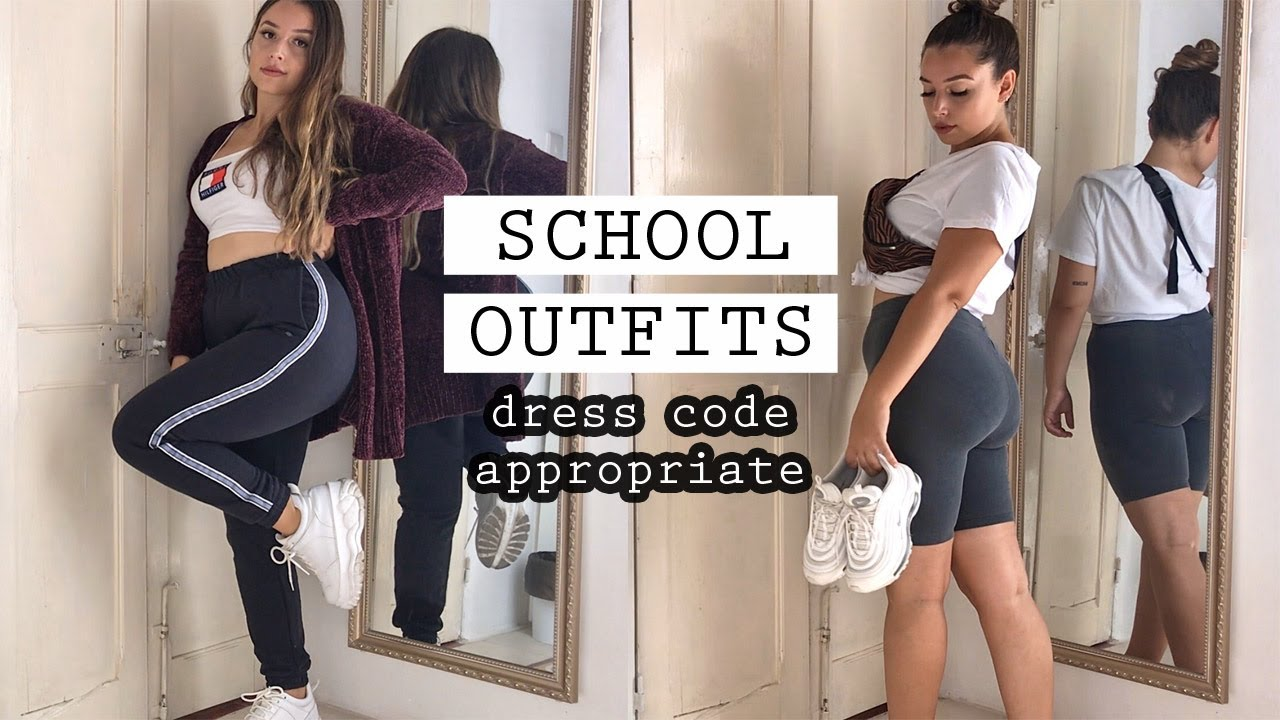 [VIDEO] - SCHOOL outfit ideas (dress code appropriate) 4