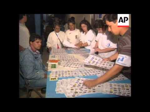GUATEMALA: ALVARO ARZU CLAIMS VICTORY IN PRESIDENTIAL ELECTION