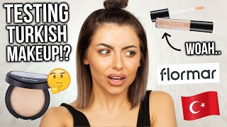 OMG! TESTING FLORMAR / PRIMARK MAKEUP! TURKISH MAKEUP! FULL FACE OF FIRST IMPRESSIONS + REVIEW