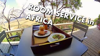 ROOM SERVICE in the MASAI MARA - Angama Mara Luxury Safari Camp