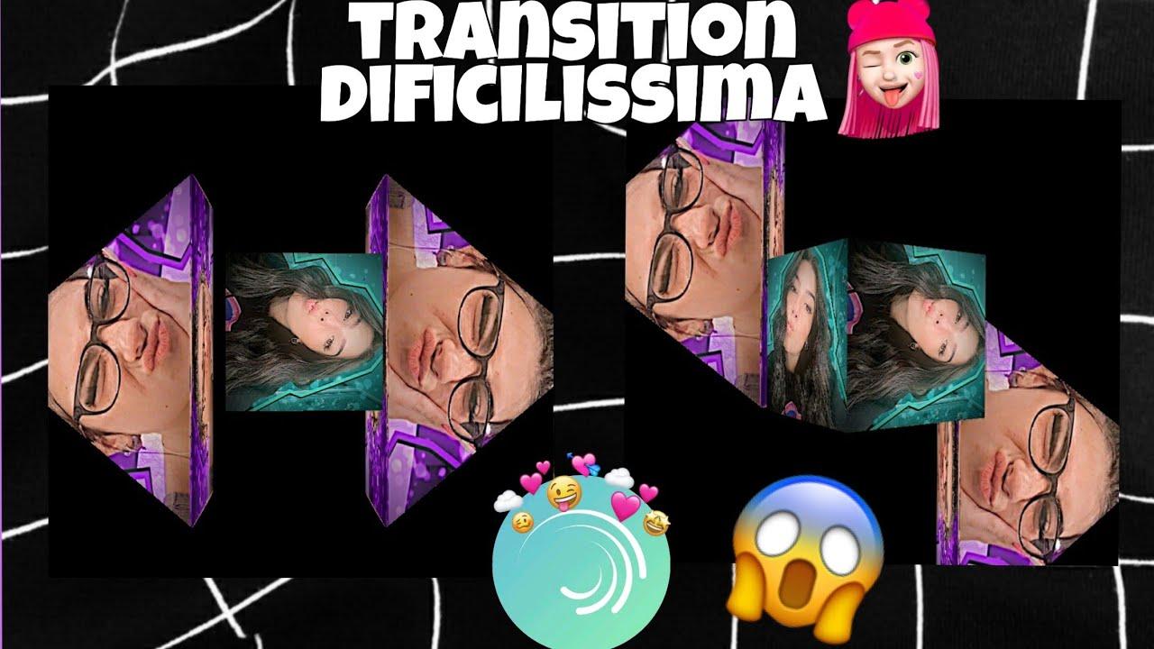 Transiton difficilissima su Alight Motion