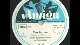 Tea for two - Günter Oppenheimer (Klavier) & Rhythmusgruppe