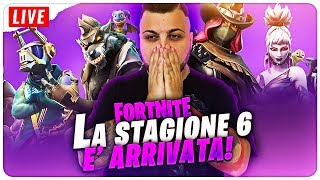 SEASON 6 - SHOP PIAMO ALL PASS 🔴LIVE FORTNITE