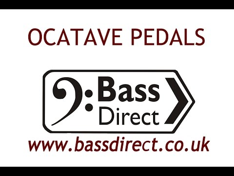 Octave Pedals At Bass Direct UK
