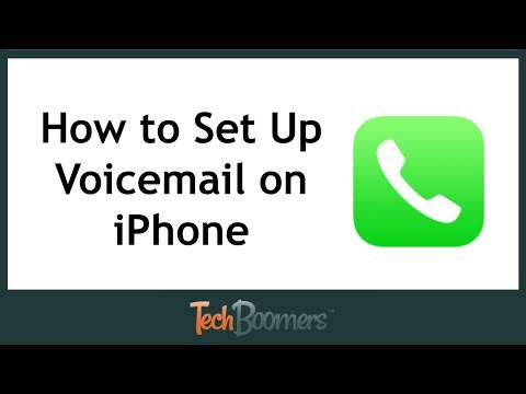 Why cant i setup my voicemail on my iphone 6s