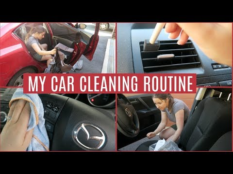 MY CAR CLEANING ROUTINE | CLEANING HACKS