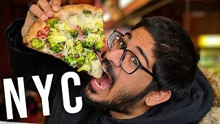 Best VEGAN pizza in New York City!