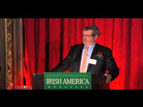 Michael Dowling Delivers Keynote Address At Irish America Business 100