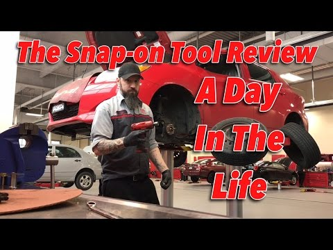 The Snap-on Tool Review - A Day In The Life
