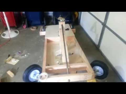 Homemade Electric Go Kart, Part 1, From Scratch