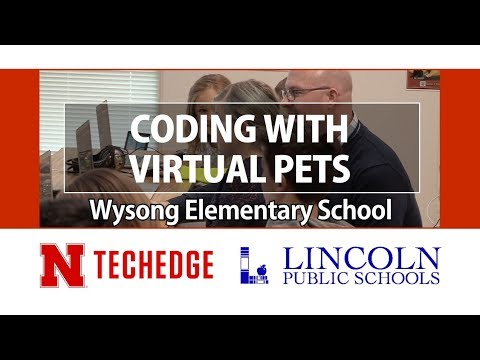 Coding with Virtual Pets, Wysong Elementary School