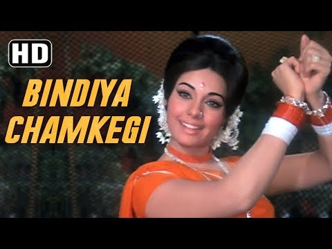 Bindiya Chamkegi - Mumtaz - Rajesh Khanna - Do Raaste - Bollywood Evergreen Love Songs {HD}