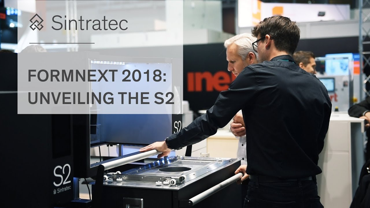 Formnext 2018: Unveiling the Sintratec S2
